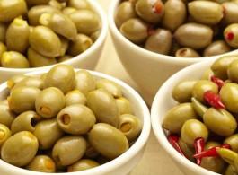 Оливки фаршированные Халкидики Ellenika Греция