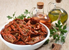 Вяленые томаты со специями Ellenika Греция